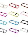 Pour Coque iPhone 5 Brassard Coque Antichoc Coque Couleur Pleine Dur Metal iPhone SE/5s/5