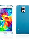 Solide boîtier classique de silicone de couleur arrière pour Samsung S5 (Assortd couleur)
