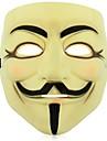 V for Vendetta Anônimo Máscara de Guy Fawkes para Adulto