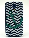 For Samsung Galaxy Case Pattern Case Back Cover Case Anchor PC Samsung S4 Mini