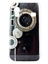 Retro Design Camera Pattern Hard Case for Samsung Galaxy Ace S5830