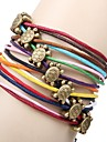 Women's Wrap Bracelet Unique Design Handmade Fashion Leather Others Turtle Animal Jewelry Daily Casual Sports