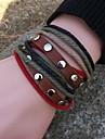 Eruner®Multilayer Charms Handmade Leather Bracelets