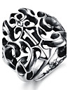 Homens Anéis Grossos bijuterias Aço Titânio Jóias Para Festa Diário Casual Esportes