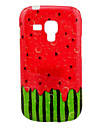 Watermelon Pattern TPU Soft Case for Samsung Galaxy Trend Duos S7562/S7560