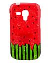 Soft Case pastèque modèle de TPU pour Samsung Galaxy Duos tendance S7562/S7560
