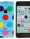 아이폰 5C 투명 다채로운 풍선 패턴 PC 하드 케이스