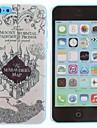 Castelo Pattern Caso duro do PC para o iPhone 5C