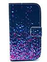용 삼성 갤럭시 케이스 지갑 / 카드 홀더 / 스탠드 / 플립 / 패턴 케이스 풀 바디 케이스 컬러 그라데이션 인조 가죽 Samsung Core