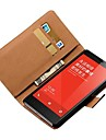 Housse en cuir de luxe de modèle de pochette pour Xiaomi Hongmi Remarque Housses de téléphone avec stands et détenteurs de cartes