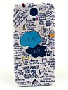 Ok Letter Pattern Hard Case Cover for Samsung Galaxy S4 I9500