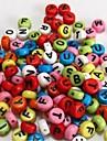 z&X® Beads DIY carta granulos da cor material de 100 pecas (cor aleatoria, padrao)