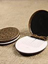 Round Chocolate Cosmetic Mirror