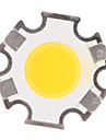 3W COB 280-320LM 3000K Warm White Light LED Chip (9-11V,300uA)