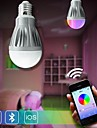 7W E26/E27 Круглые LED лампы A60(A19) 30 SMD 5630 600 lm Регулируемая На пульте управления Сенсорная Декоративная AC 85-265 V