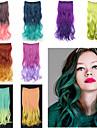 인간의 머리카락 확장 고품질 요동하는 클래식 여성용 일상