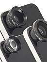 lente universal de 2x magnetica teleobjetivo, lentes de ojo de pez y macro gran angular para el iphone y otros