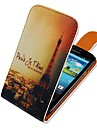 Iron Tower Up-down Turn Over PU Leather Full Body Case for  Samsung Galaxy S3 I9300