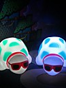 Multicolor Turtle Cute Design Plastic Night Light (1pcs)