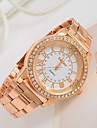 Women's Watch Big Dial Rhinestone Rose Gold Watch Cool Watches Unique Watches