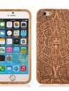 Maya Totem Pattern Wood Cover for iPhone 6