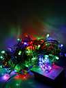 10M 100 LEDs Halloween decorative lights festive strip lights-Ordinary string lights RGB (220V)