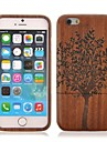 Tree Pattern Sapele Wood Cover for iPhone 6