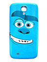 Monsters Pattern Thin Hard Case Cover for Samsung Galaxy S4 Mini I9190