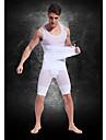 흰색 위에 정의 강한 경량 통기성 메쉬 벨트 망 \'복부 지방 굽기 몸 조각 의류