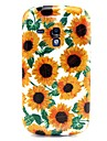 Sun Flower Pattern TPU Soft Back Cover for Samsung Galaxy S3 Mini I8190