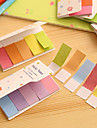 Gradient Rainbow Color Double Sides Scrapbooking Self-Stick Notes