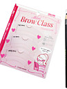 3 pcs Eyebrow Stencil Plastic Eye Daily Makeup