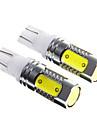 7.5W super brilhante t10 LED de conducao diurna luz / carro nevoeiro luz (DC12-24 2pcs)