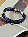 Homme Bracelets en cuir Original Mode bijoux de fantaisie Cuir Bijoux Bijoux Pour Quotidien Decontracte Sports