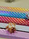 Padrão de onda ponto brilhante 90 pcs gradiente lucky star materiais de origami (5 cor / cor aleatória pacote)