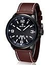 Luxury Brand Leather Watch Men Luminous Watch Date Calender Japan Quartz Movement (Assorted Colors) Wrist Watch Cool Watch Unique Watch