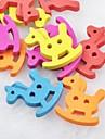 botones de madera diy colorido libro de recuerdos troyano Scraft coser (10 piezas)