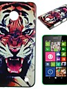 Fierce Tiger Pattern PC Hard Case for Nokia Lumia N630