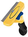 cabelo e higiene da pele ferramentas amarelos para animais de estimação