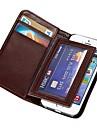 durable pu étui portefeuille en cuir pour apple iphone 5s