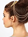 бахромой край клипа аксессуары для волос