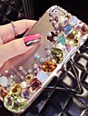 4,7 polegadas a nova cor brilhante com diamante tampa traseira dura para o iPhone 6 (cores sortidas)