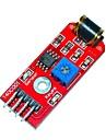 Keyes 801s Värähtelyanturi moduuli - punainen (DC 3 ~ 5v)