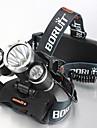 4mode Lampes Frontales Eclairage de Vélo / bicyclette LED 5000 Lumens 4.0 Mode Cree XM-L T6 Résistant aux impacts Rechargeable Imperméable