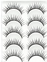 Eyelashes lash Eyelash Natural Long Volumized Natural Fiber Cosmetic Beauty Care Makeup for Face