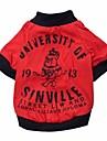 padrao cara 100% t-shirt legal e bonito de algodao para caes (tamanhos variados)
