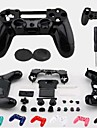 Replacement Protective Case Cover + Accessories + Button Protector + Silicone Case for PS4 Wireless Controller