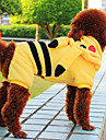 Dog Coats - XS / S / M / L / XL - Winter - Yellow Mixed Material / Cotton