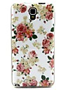 Love Flowers Pattern TPU Soft Cover for Galaxy Note 3 Lite