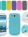 Pour Samsung Galaxy Coque Autre Coque Coque Arriere Coque Couleur Pleine Silicone pour Samsung S3